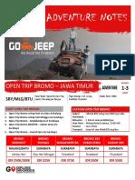 Open Trip Bromo dan Destinasi Jawa Timur