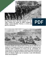 Proceso de La Segunda Guerra Mundial