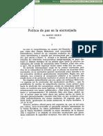 Politica de Paz en La Encrucijada-MartinKriele