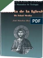 Historia de la Iglesia II. Álvarez, Jesús