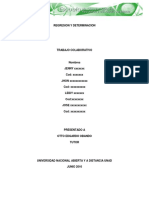 Fisica General Trabajo Colaborativo 2REGRESION Y DETERMINACION