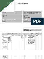 Carta Descriptiva de Priemros Auxilios