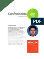 Conferencista Juan Parra