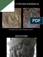 Escultura y Pintura Románicas