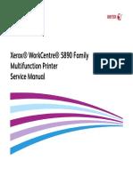 Xerox Wc 5890 service manual