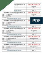 Tiket Bus Goes to Jogjakarta 2018 Fix