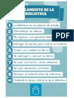 Reglamento de Biblioteca y Ficha Bibliográfica