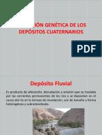 Definición Genética de Los Depósitos Cuaternarios
