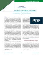 Nueva Clasificación de Periodontitis