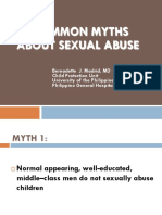 common myths about sexual abuse