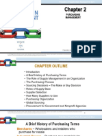 Supply Chain Management Chapter 2