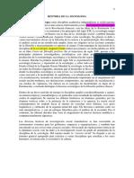 La Historia de La Sociología Como Disciplina Académica