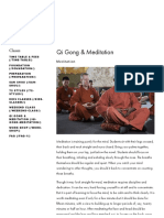 Qi Gong & Meditation — Shaolin Temple UK