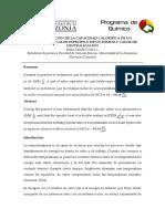 Determinación de La Capacidad Calorifíca de Un Calorimetr1