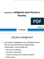 246-Tarjeta Inteligente Para Acceso y Hoteles