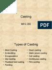 16 Casting
