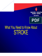 Community Powerpoint What You Need to Know About Stroke