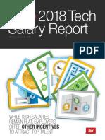 Dice TechSalarySurvey 2018