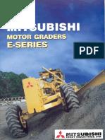 Mitsubishi Graders Mg130 e,Mg230ii e,Mg330 e