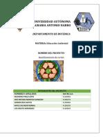 Proyecto de Reciclaje de Carton PDF