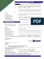 Formulir LPC lion air