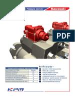 Kawasaki pump – parallel pressure control