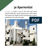 Best School Infrastructure in NCR Region