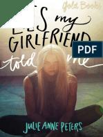 Lies My Girlfriend Told Me - Julie Anne Peters.pdf