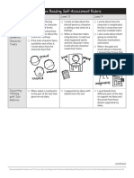 grade 4 - unit 1 - pre-assessment - student rubric