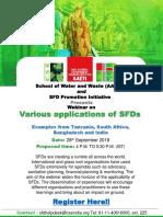 Variations of SFD