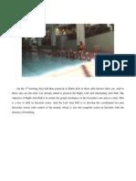Documentation of Swimming Exercises