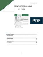 Controles de Formulario Excel