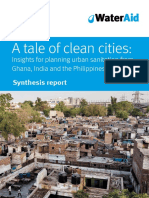 A Tale of Clean Cities Insights for Planning Urban Sanitation From Ghana India and the Philippines_low Res