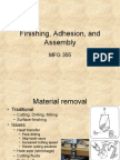 21 Finishing, Adhesion, Assembly