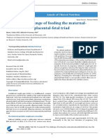 The Challenge of Feeding the Maternal Placental Fetal Triad