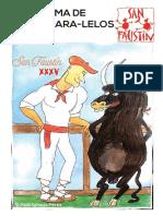 Programa San Faustin 2018