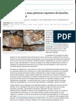 Graves Destrozos en Unas Pinturas Rupestres Declaradas Patrimonio Mundial _ Andalucía _ EL PAÍS