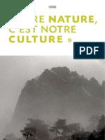 Votre Nature c'Est Notre Culture