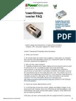 FAQ Inveretrs
