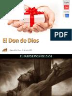 Lección 01 - El Don de Dios