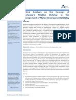 Critical Analysis on the Concept of Kashyapa's Phakka Chikitsa in the Management of Motor Developmental Delay