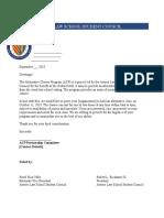 ACP Partnership Letter