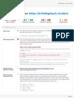 SEO Report Kritidigitech.in Junly'18 (1)