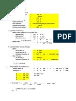 Excel Perhitungan Struktur Jembatan