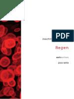 REGEN (in French) - Joachim Montessuis - 2012