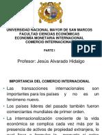 Parte i, Comercio Internacional Usos y Fuenes, Bp, Parte i