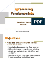 FUN 03B JavaProgrammingFundamentals