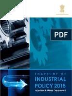 Gujarat Industrial Policy 2015