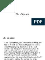 Chi - Square