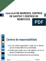 Centros de Responsabilidad(Ingresos - Gastos - Beneficios)